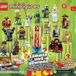 1er visuel des Minifigurines LEGO série 13