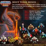 Mattel dévoile son line-up Motu Mini