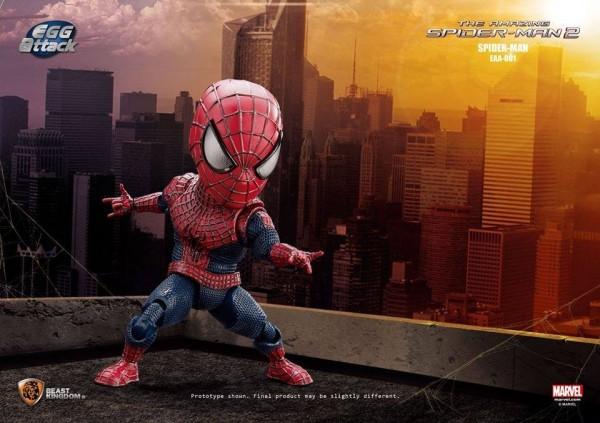 Egg Attack Action #001 Amazing Spider-Man2: Spider-Man by Beast Kingdom