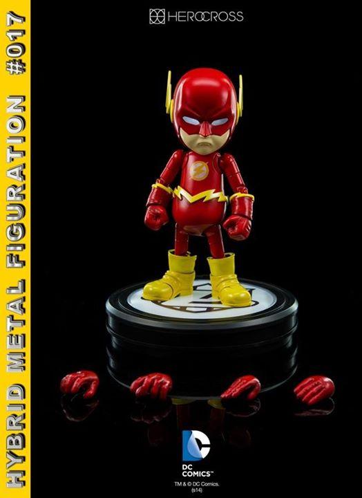 Hybrid Metal Figuration #017: DC Comics: Flash by 86 Hero