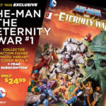 Un couverture variante pour He-Man Eternity War #1