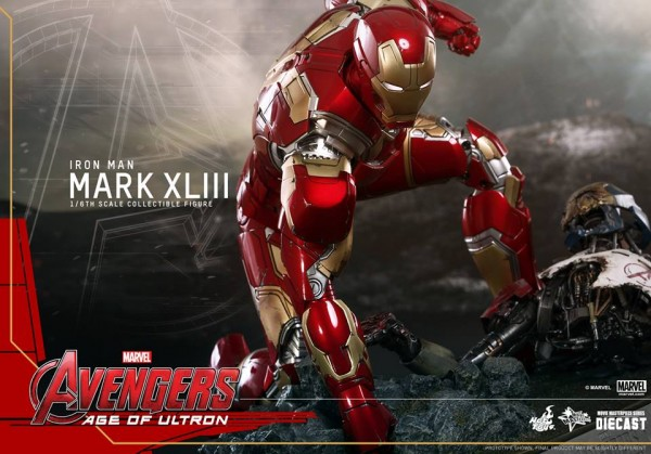 age of ultron iron man hot toys 1