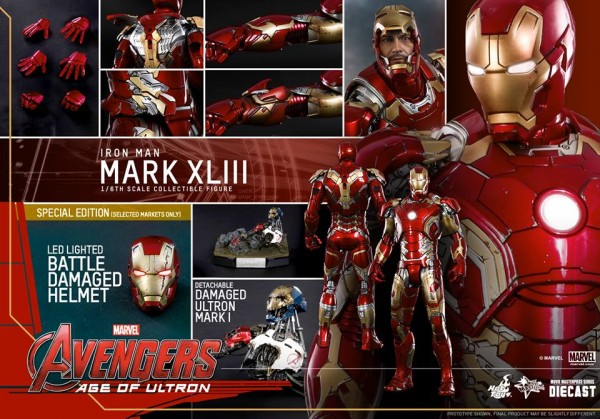 age of ultron iron man hot toys