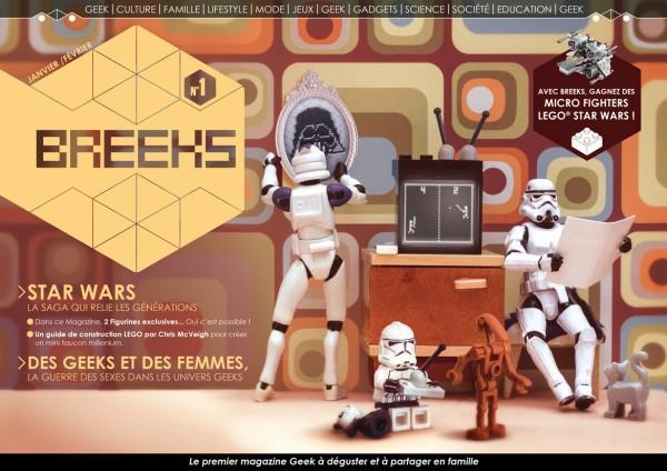 le magazine geek à construire et partager en famille