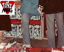 Un pan entier de « D2-R2 » radio-commandé. La boîte Kenner est assez différente de celle produite par Meccano à la même époque. © Archives Galeries Lafayette