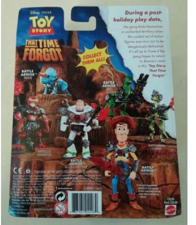 disney pixar toy story battle armor woody