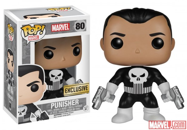 funko pop marvel exclu punisher