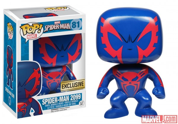 funko pop marvel exclu spidey