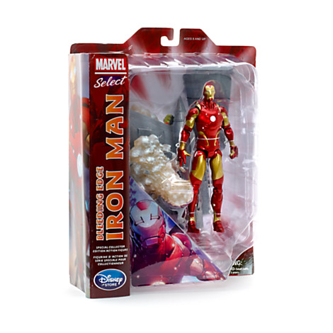 iron man marvel select exclu 1