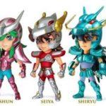 Une série de mini figurines Saint Seiya par Kids Logic
