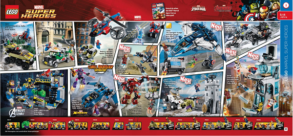 lego super heroes avengers 2015
