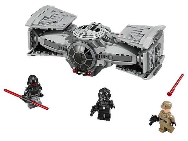 lego star wars 75082 TIE Advanced Prototype