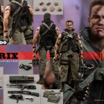 Commando : John Matrix par Hot Toys
