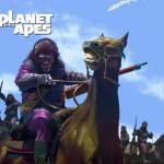 NECA : Card Art Planète des singes 8″