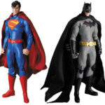 Batman et Superman New52 par Medicom