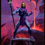 Les images officielles de la statue de Skeletor