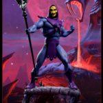 Les images officielles de la statue de Skeletor
