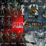 NECA : visual guides pour Predator et Pacific Rim