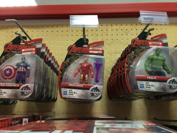 Avengers Age of Ultron Marvel-Universe 5 POA Action Figures