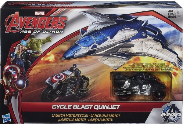 Cycle Blast Quinjet Avengers Age of Ultron