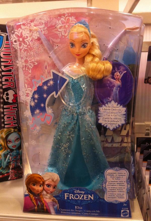 Frozen / Reine des Neiges Elsa Cahnte Let it Go Let it GO libéré délivré