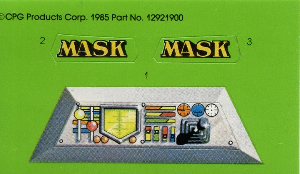 MASK Condor Stickers