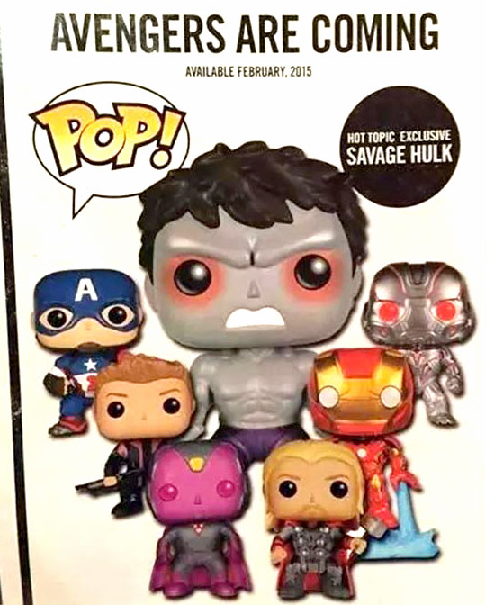 POP FUNKO Avengers2 AGE of Ultron