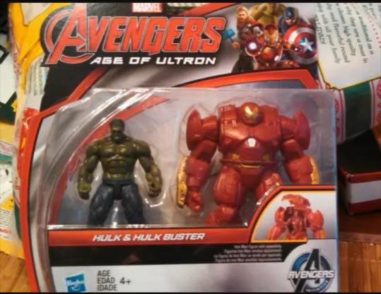 The Avengers Age of Ultron 2.5 Inch Hulk Buster Hulk 2pk