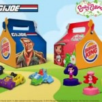 G.I.Joe et Charlotte aux Fraises Chez Burger King