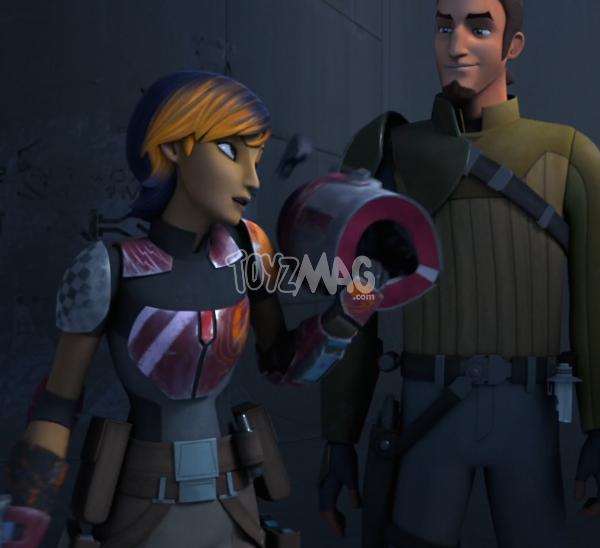 casque mando star wars rebels