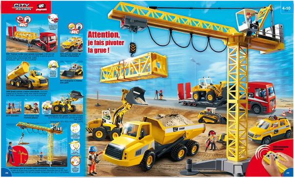 catalogue playmobil 2015 chantier