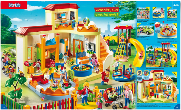 catalogue playmobil 2015 creche