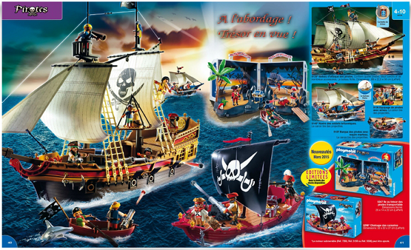 catalogue playmobil 2015 pirates