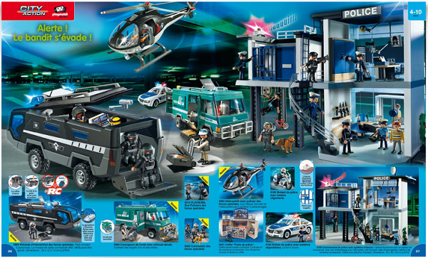 catalogue playmobil 2015 police