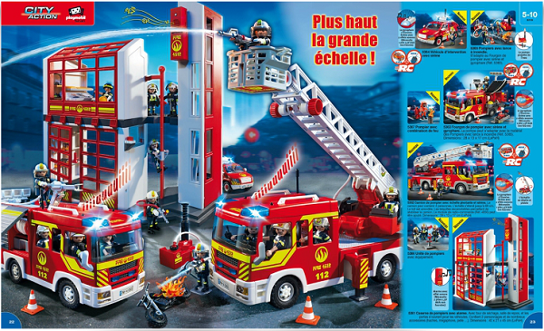 catalogue playmobil 2015 pompiers
