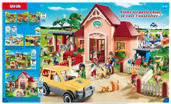 catalogue playmobil 2015 veterinaire
