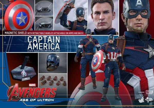 hot toy captain america 0