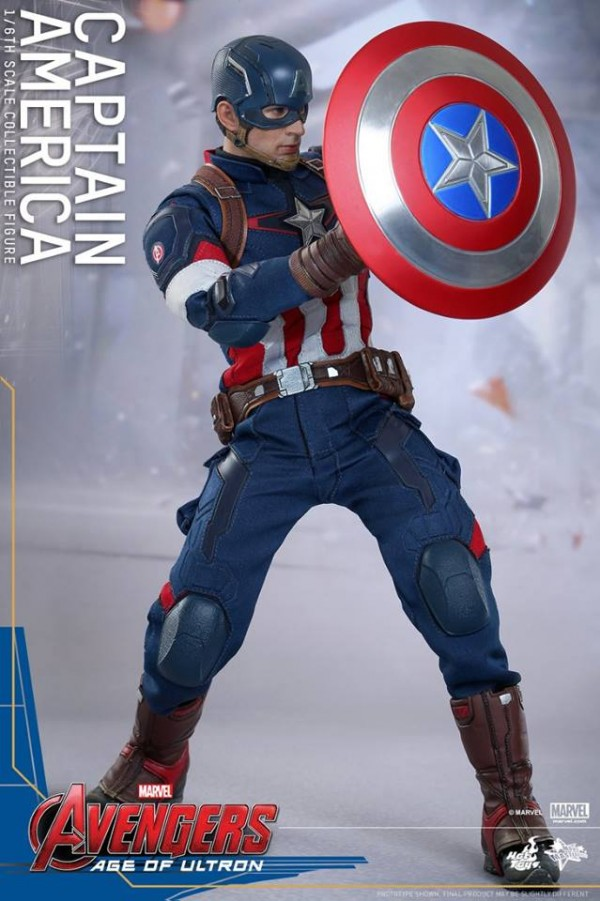 hot toy captain america 4