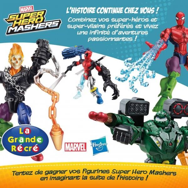 FUSION, une aventure des Marvel Super Hero Mashers !