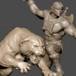 Une statue pour He-Man et Battle Cat