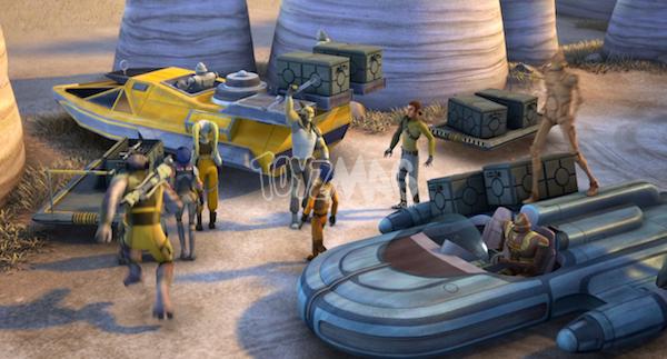 speeders star wars rebels