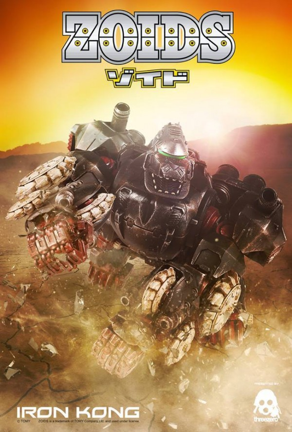 three zero zoids iron kong