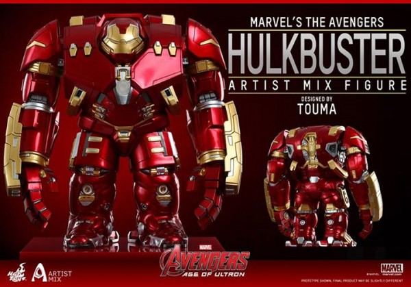 Avengers: Age of Ultron: Artist Mix Figures Designed by Touma