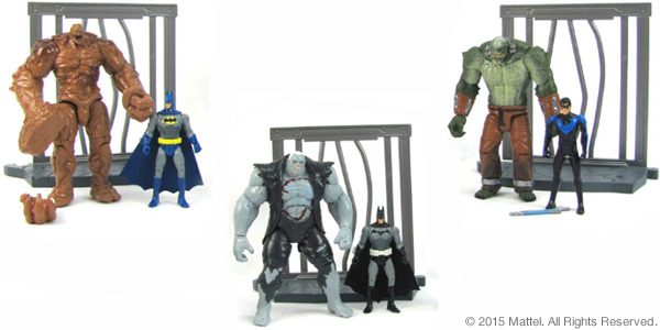 "DC Comics Multiverse 4"" Figure 2-Packs"