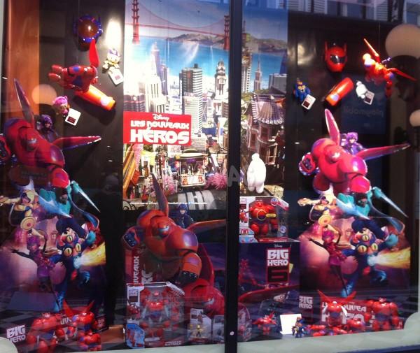 Jouets Les nouveaux Heros Big Hero 6 Bandai
