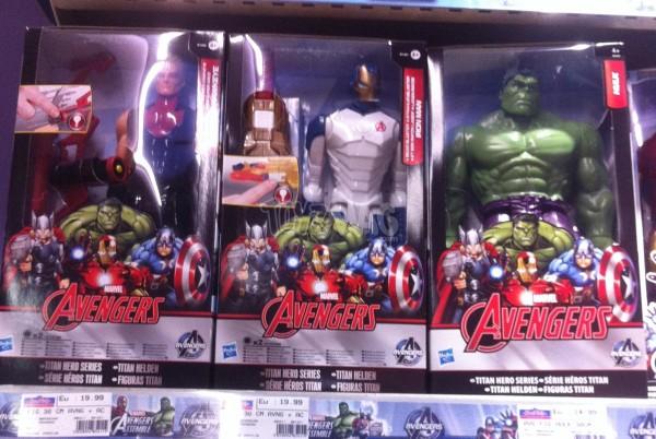 Titan hero Avengers Ere d'Ultron