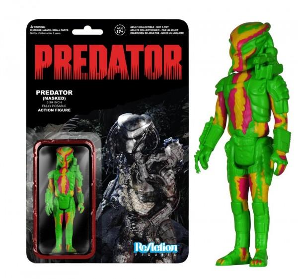 Funko ReAction Heat Vision Predator TRU exclu