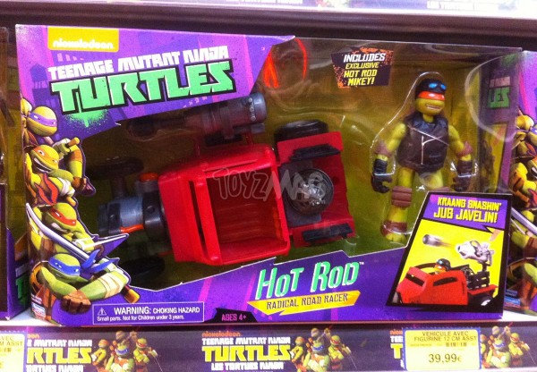 tortues ninja Hot rod