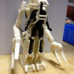 Aliens par Hiya Toys : power loader à l'échelle 1/18