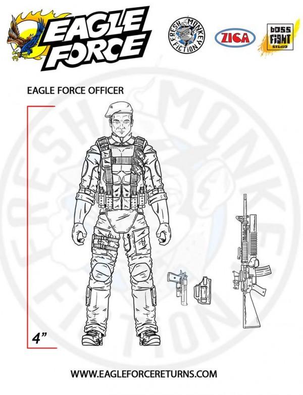 eagle force officer